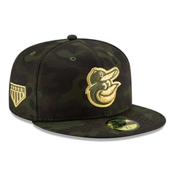 Baltimore Orioles Armed Forces Day 59FIFTY On Field