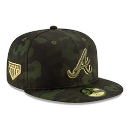 Atlant Braves Armed Forces Day On Field 59FIFTY