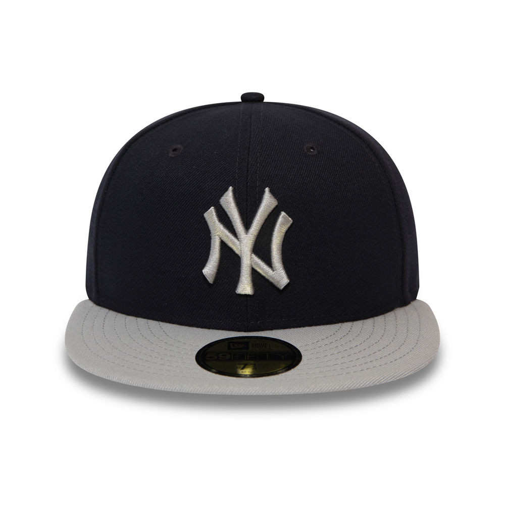 59FIFTY – New York Yankees – Official Team Colour Block – Schwarz