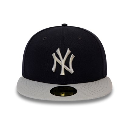 New York Yankees Official Team Colour Block Black 59FIFTY