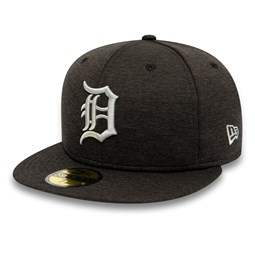 7c3b01e4aa5cd Detroit Tigers Shadow Tech Black 59FIFTY