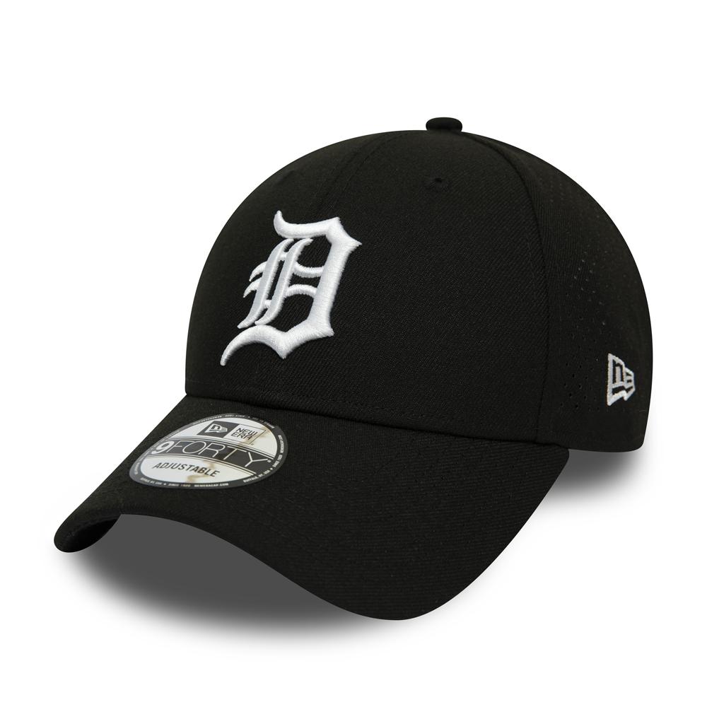 9FORTY – Detroit Tigers – Polyester – Perforiert – Schwarz