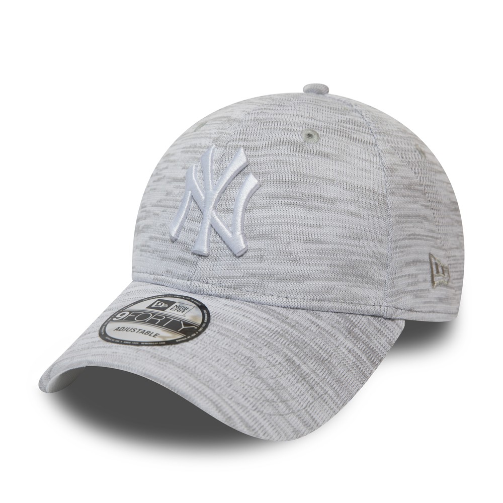 72624e12fbe New York Yankees Engineered 9FORTY gris blanc
