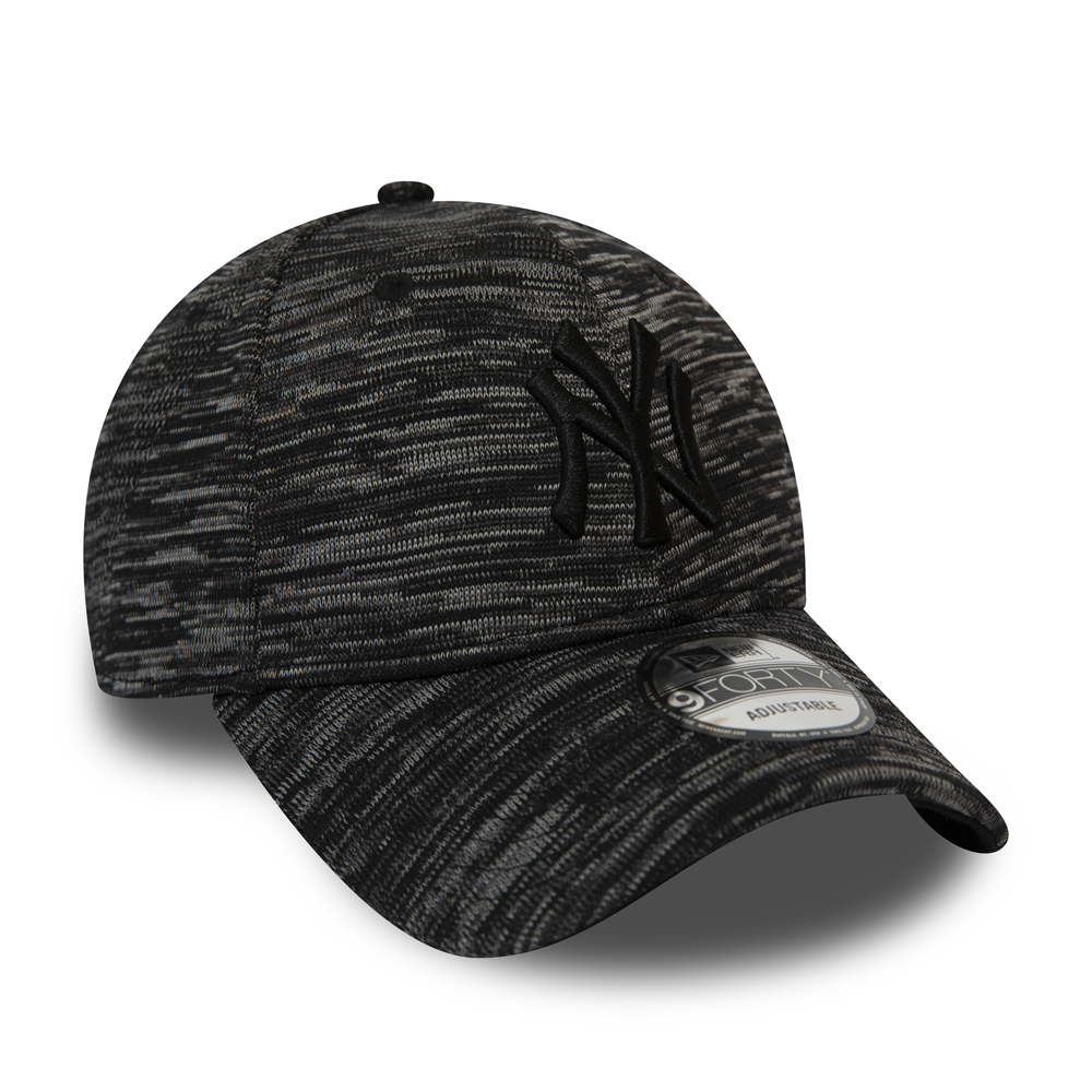 New York Yankees Engineered Fit 9FORTY, negro