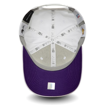 Los Angeles Lakers Stretch Snap Official Team Colour White 9FIFTY
