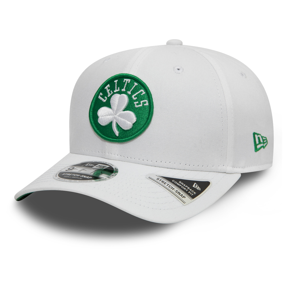 Boston Celtics Stretch Snap Official Team Colour White 9FIFTY