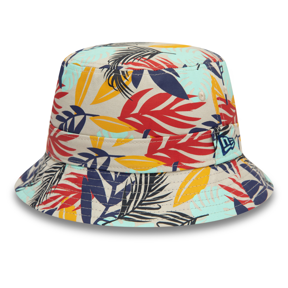 New Era Tropical Reversible Blue Bucket