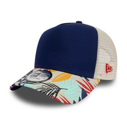 New Era – Trucker – Tropical-Blau