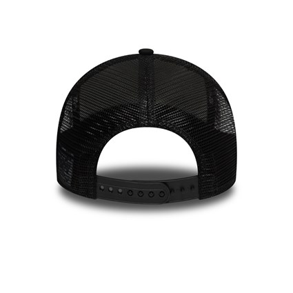 New Era Tropical Black Trucker