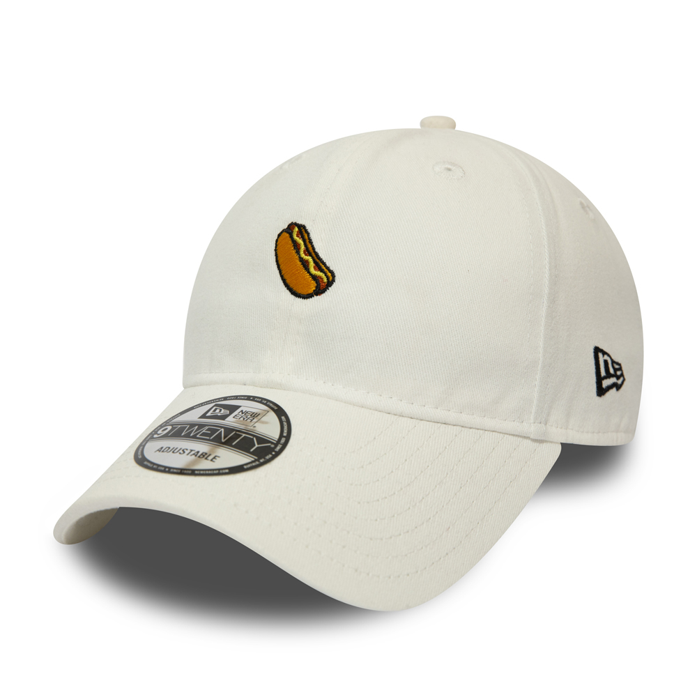 New Era Mini Hot Dog Logo White 9TWENTY