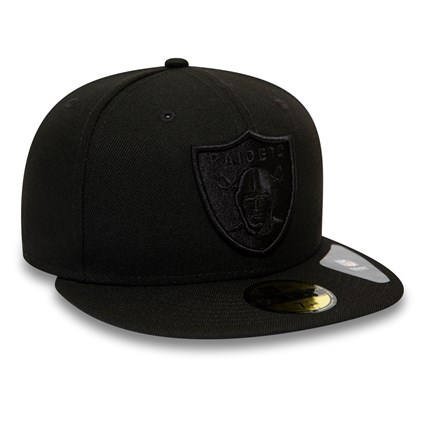 Oakland Raiders NFL Tonal Official Team Colour Black 59FIFTY