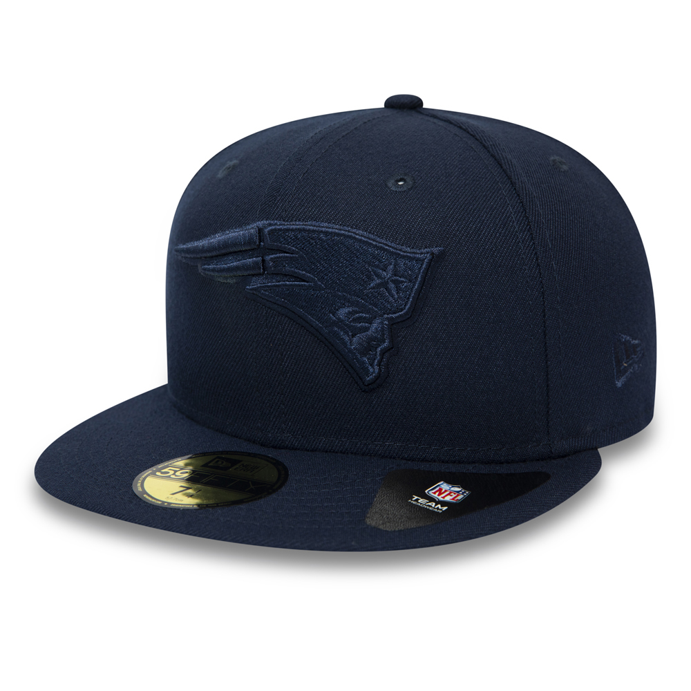on sale 94adb 8fd9c New England Patriots NFL Tonal Official Team Colour 59FIFTY
