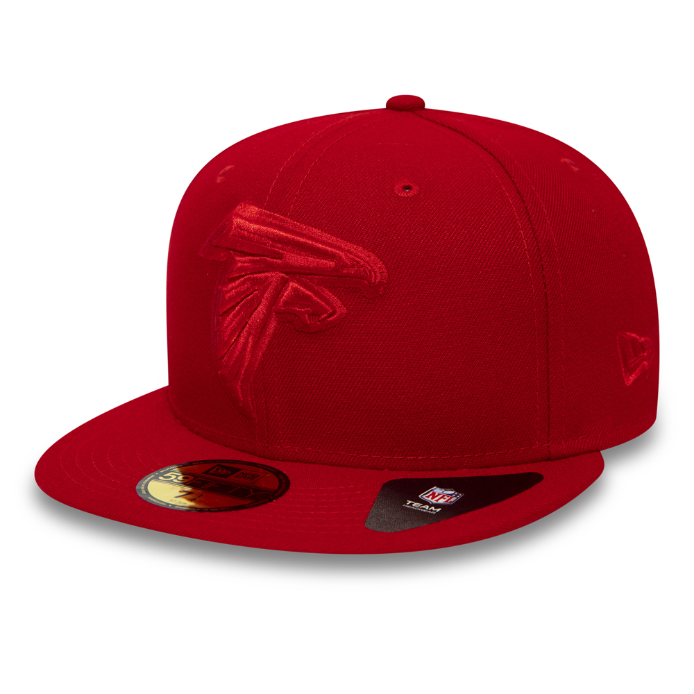 Atlanta Falcons NFL 59FIFTY rouge écarlate ton sur ton