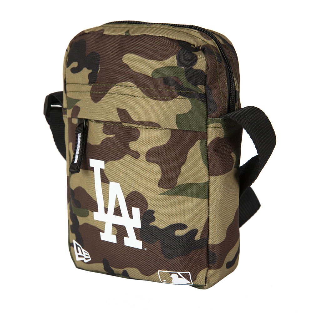 Bandolera rectangular Los Angeles Dodgers, woodland camo