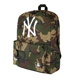 New York Yankees Stadium Woodland Camo Backpack