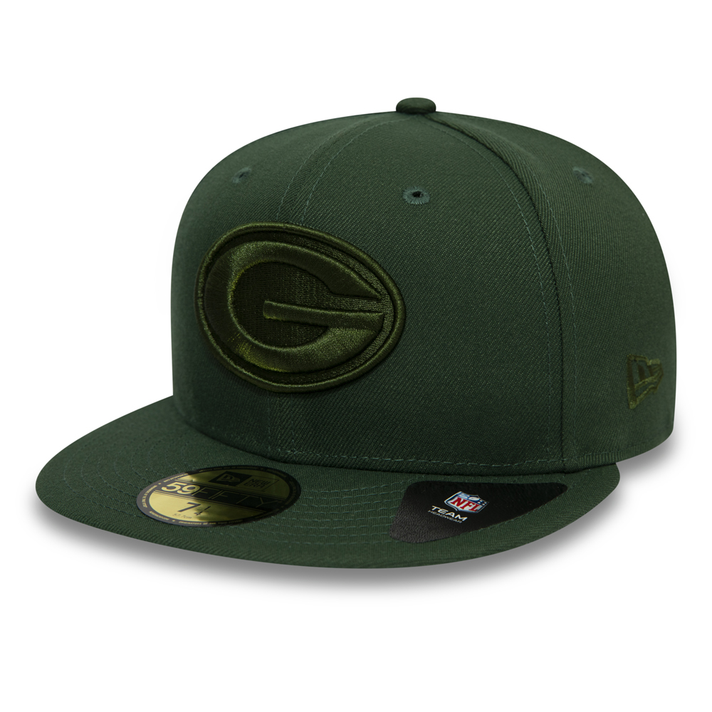 low priced 11dca ccfa0 Green Bay Packers Official Team Colour NFL 59FIFTY