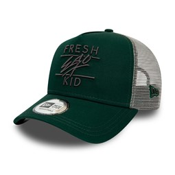 Gorra trucker Fresh Ego Kid, verde