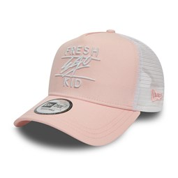 Gorra trucker Fresh Ego Kid, rosa