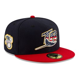 Tampa Bay Rays Independence Day 59FIFTY
