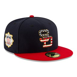 San Diego Padres Independence Day 59FIFTY