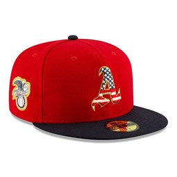 Oakland Athletics Independence Day 59 FIFTY