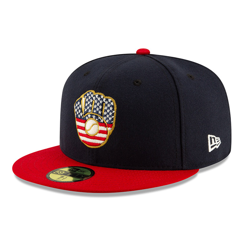 Milwaukee Brewers Independence Day 59FIFTY
