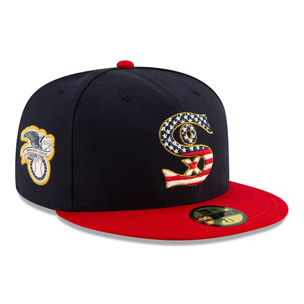 separation shoes b56bb 17e94 Chicago White Sox Independence Day 59FIFTY