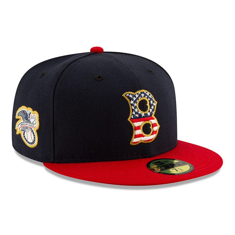 sale retailer 18287 bc31c Boston Red Sox Independence Day 59FIFTY