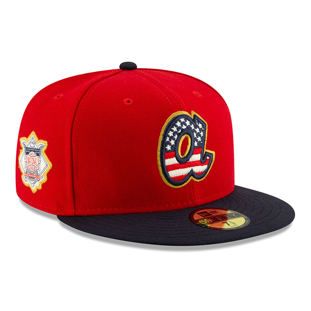 Atlanta Braves Independence Day 59FIFTY