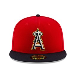 Los Angeles Angels Independence Day 59FIFTY