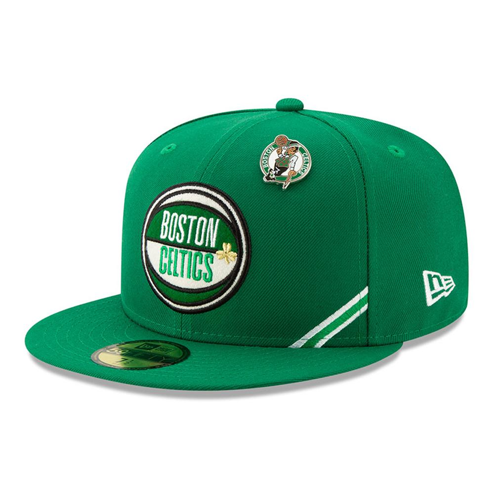 a938fef8f7fccd Boston Celtics 2019 NBA Draft 59FIFTY | New Era