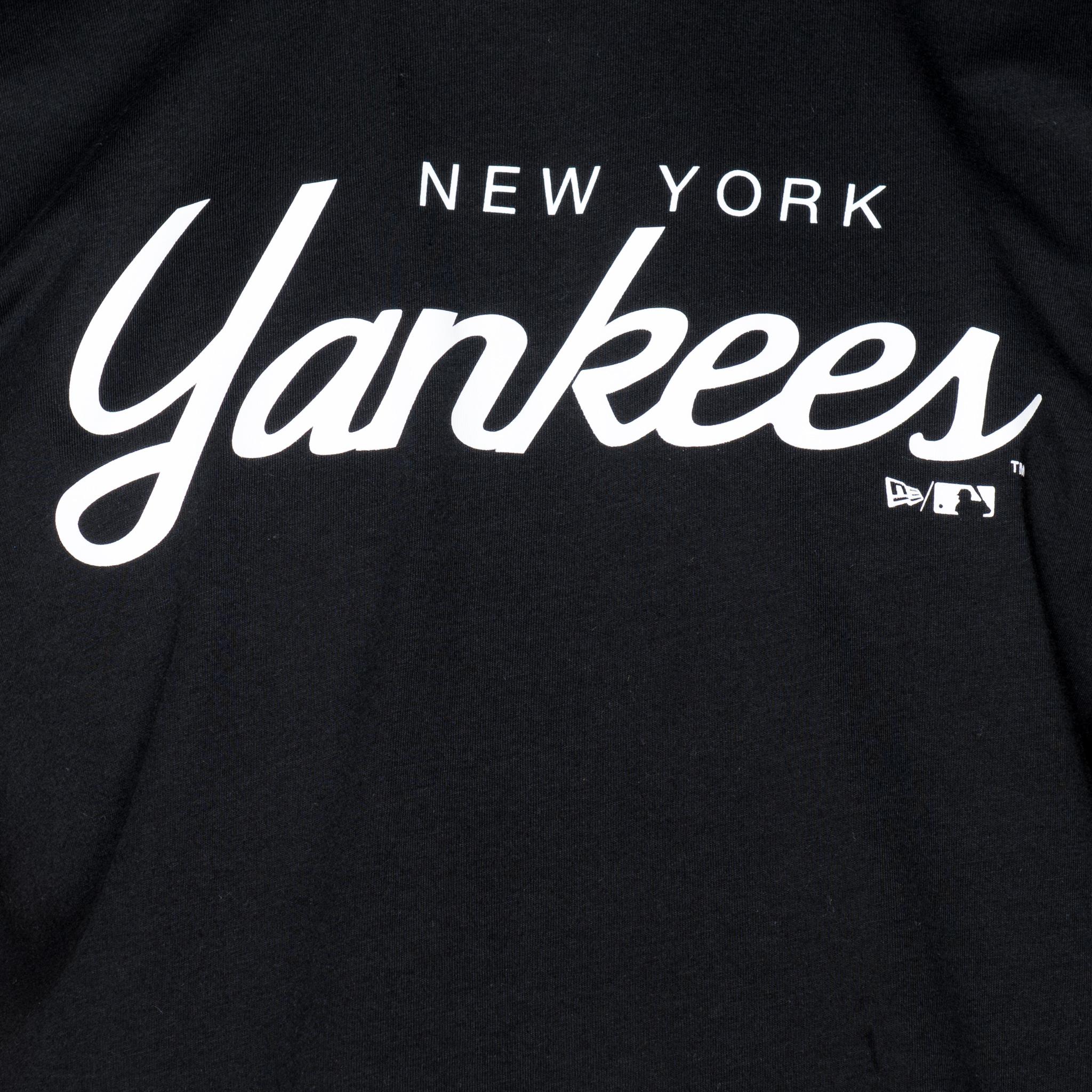 new york yankees – wordmark – t-shirt | new era cap co.