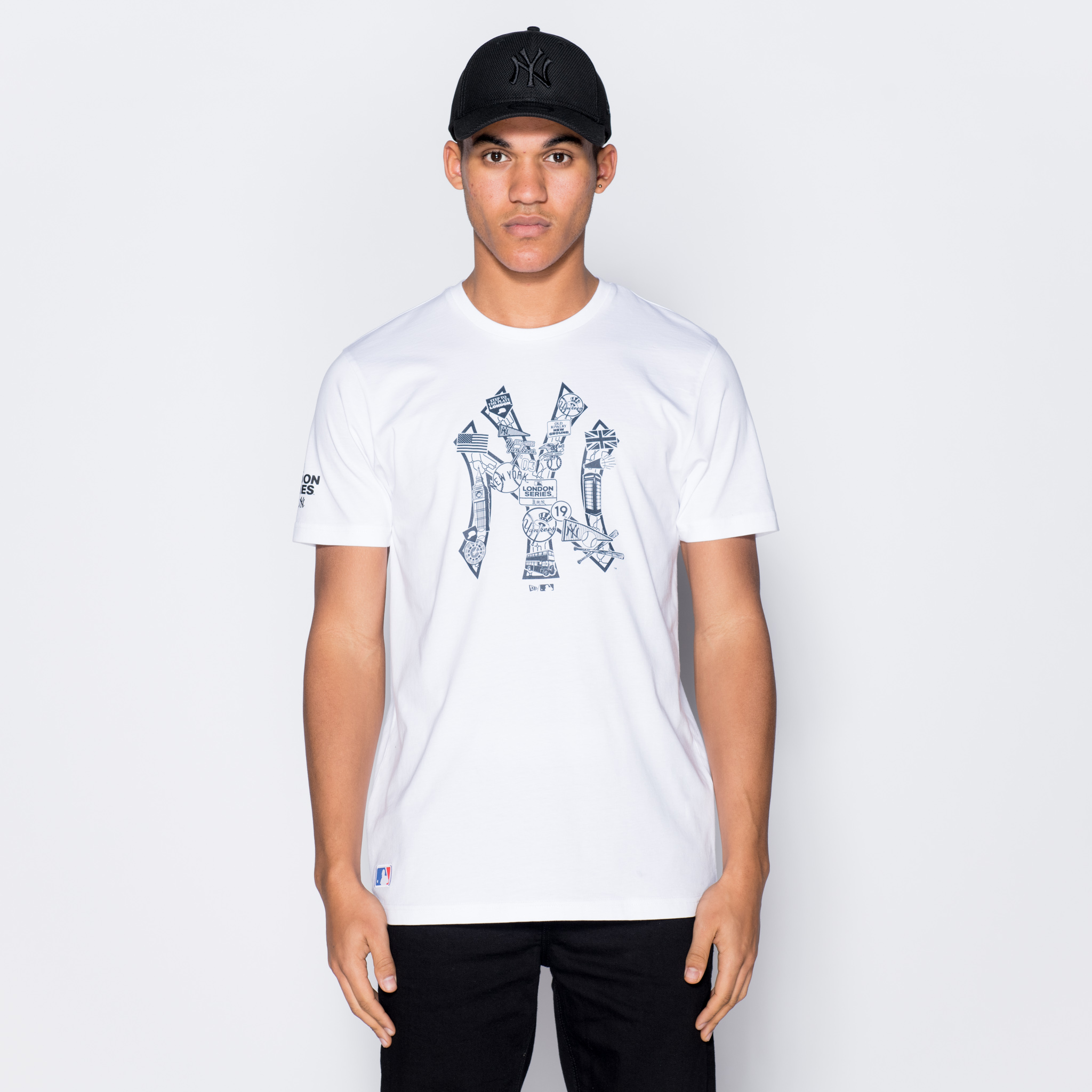T-shirt New York Yankees Graphic Infill