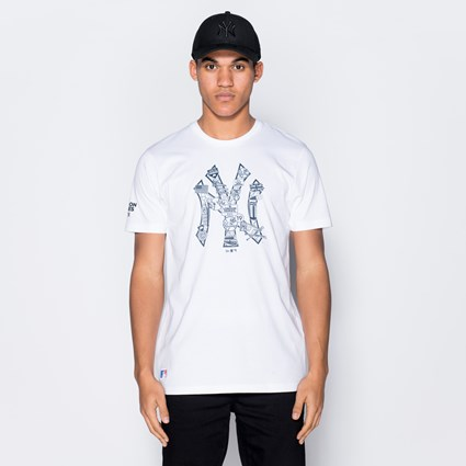 New York Yankees Graphic Infill Tee