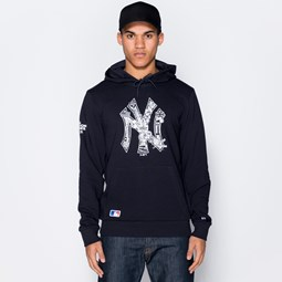 Sweat à capuche à enfiler New York Yankees Graphic Infill