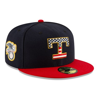 Texas Rangers Independence Day 59FIFTY