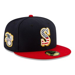 Seattle Mariners Independence Day 59FIFTY