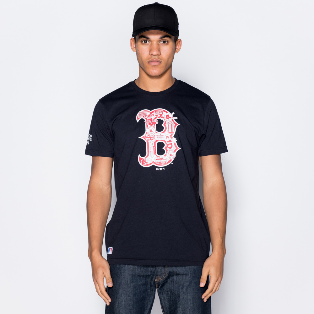 Camiseta Boston Red Sox Graphic Infill