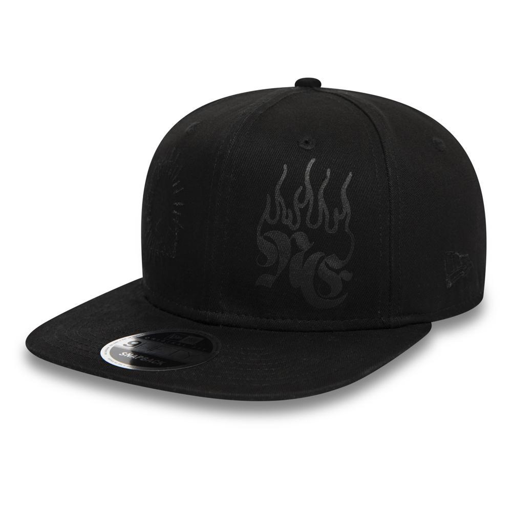 buy popular 71fb9 9316a New Era Bootleg Black 9FIFTY