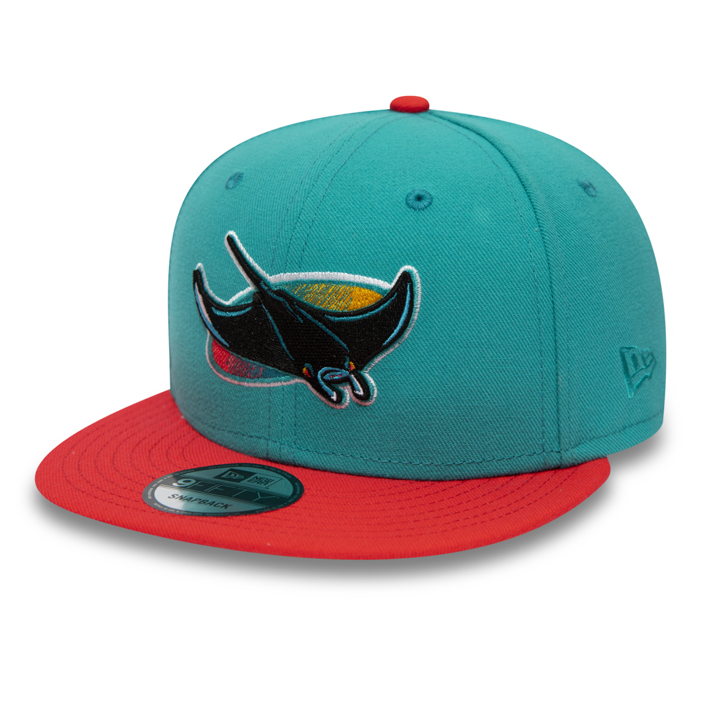 innovative design 7249a 5be62 Tampa Bay Rays Teal 9FIFTY Snapback