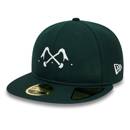 New Era x Bleu de Paname Retro Crown 59FIFTY, verde