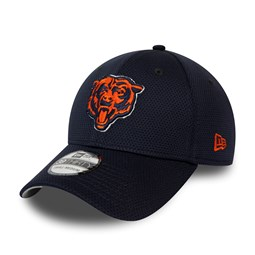 Chicago Bears Navy Mesh 39THIRTY Cap