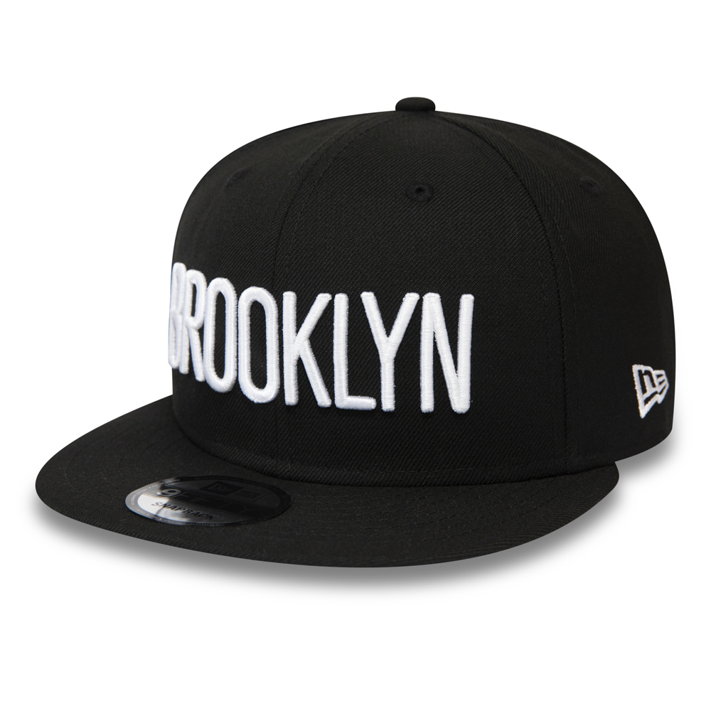 Cappellino snapback Type Hype 9FIFTY dei Brooklyn Nets