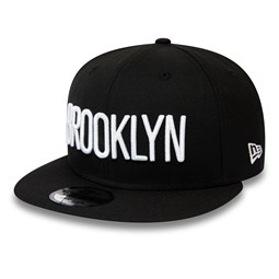 Brooklyn Nets Type Hype 9FIFTY Snapback Cap