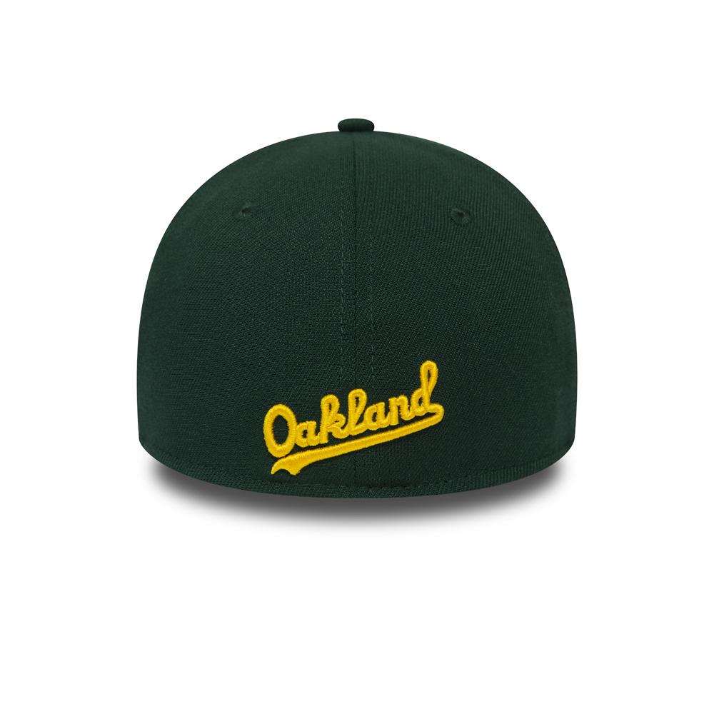 39THIRTY-Kappe der Oakland Athletics in Grün und Grau