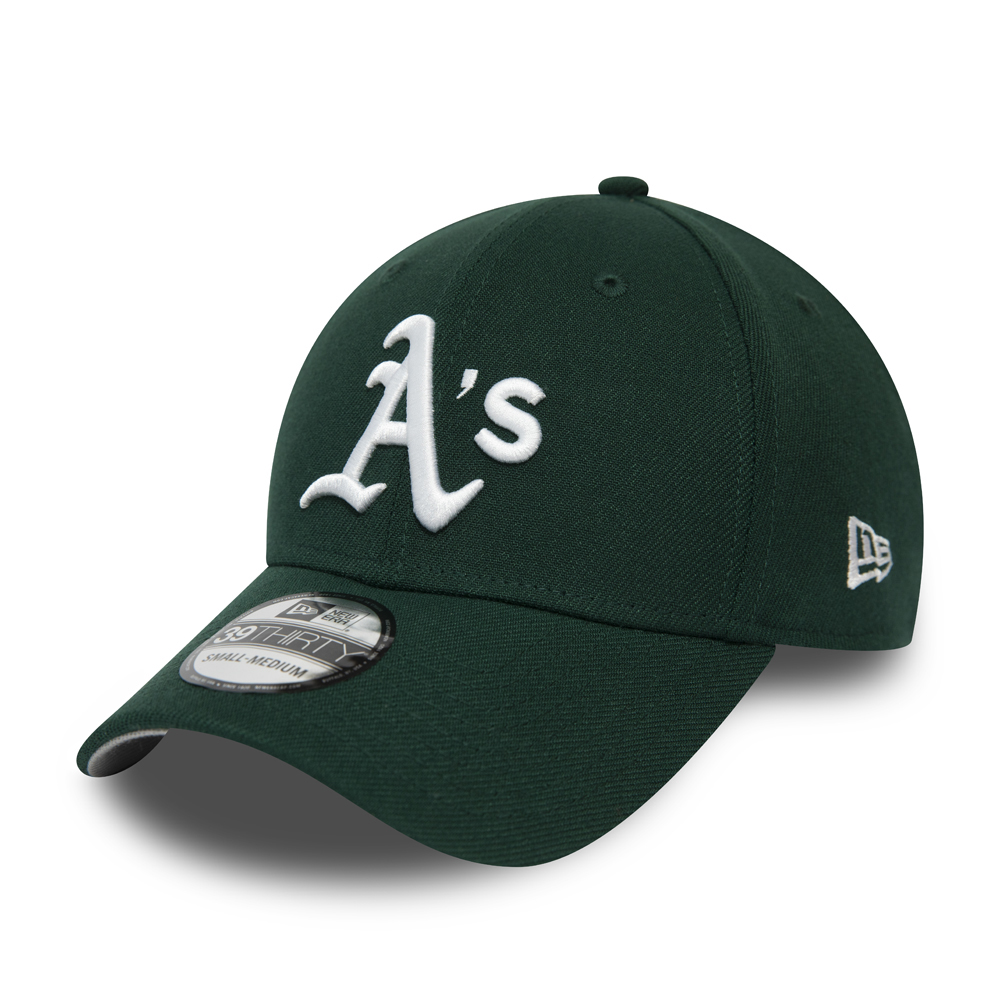 39THIRTY-Kappe der Oakland Athletics in Grün und Grau