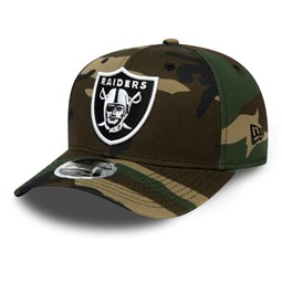 Oakland Raiders Black Camo 9FIFTY Snapback Cap