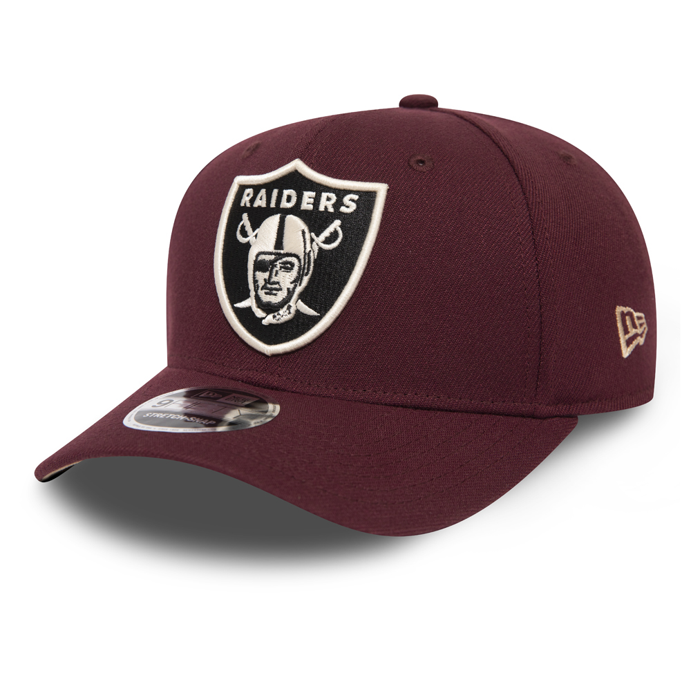 Oakland Raiders Maroon 9FIFTY Snapback Cap