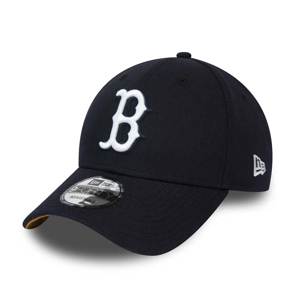 Cappellino con chiusura posteriore 9FORTY dei Boston Red Sox blu navy