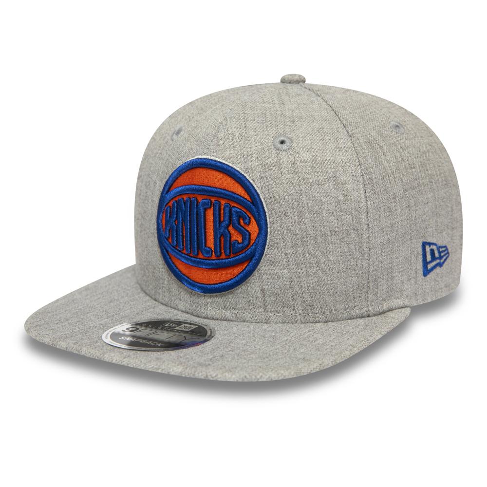 Gorra snapback New York Knicks Heather 9FIFTY, gris